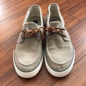 Polo Ralph Lauren Sander Canvas Deck Shoe - 10D